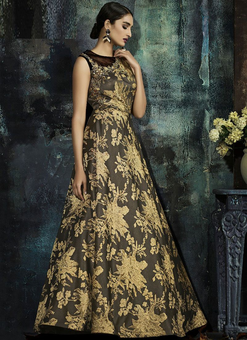 Zari Festival Trendy Gown