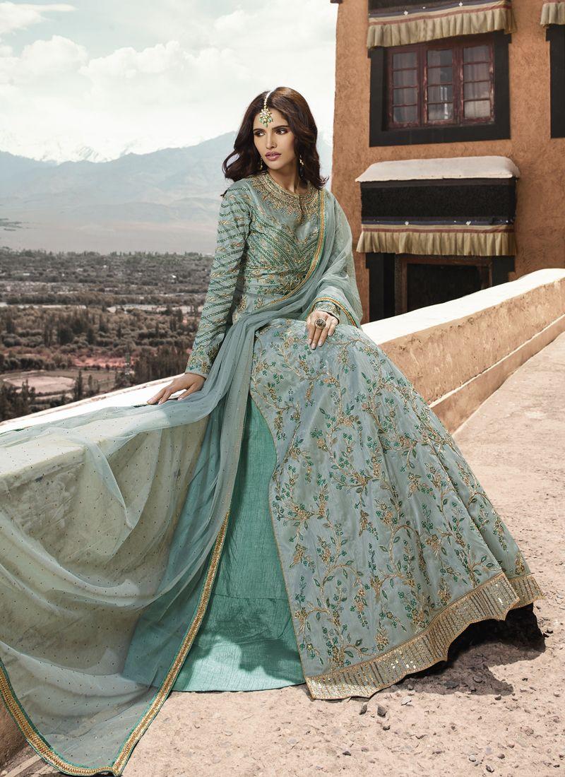 Zari Sangeet Designer Salwar Suit