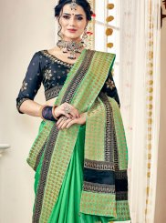 Zari Satin Trendy Saree