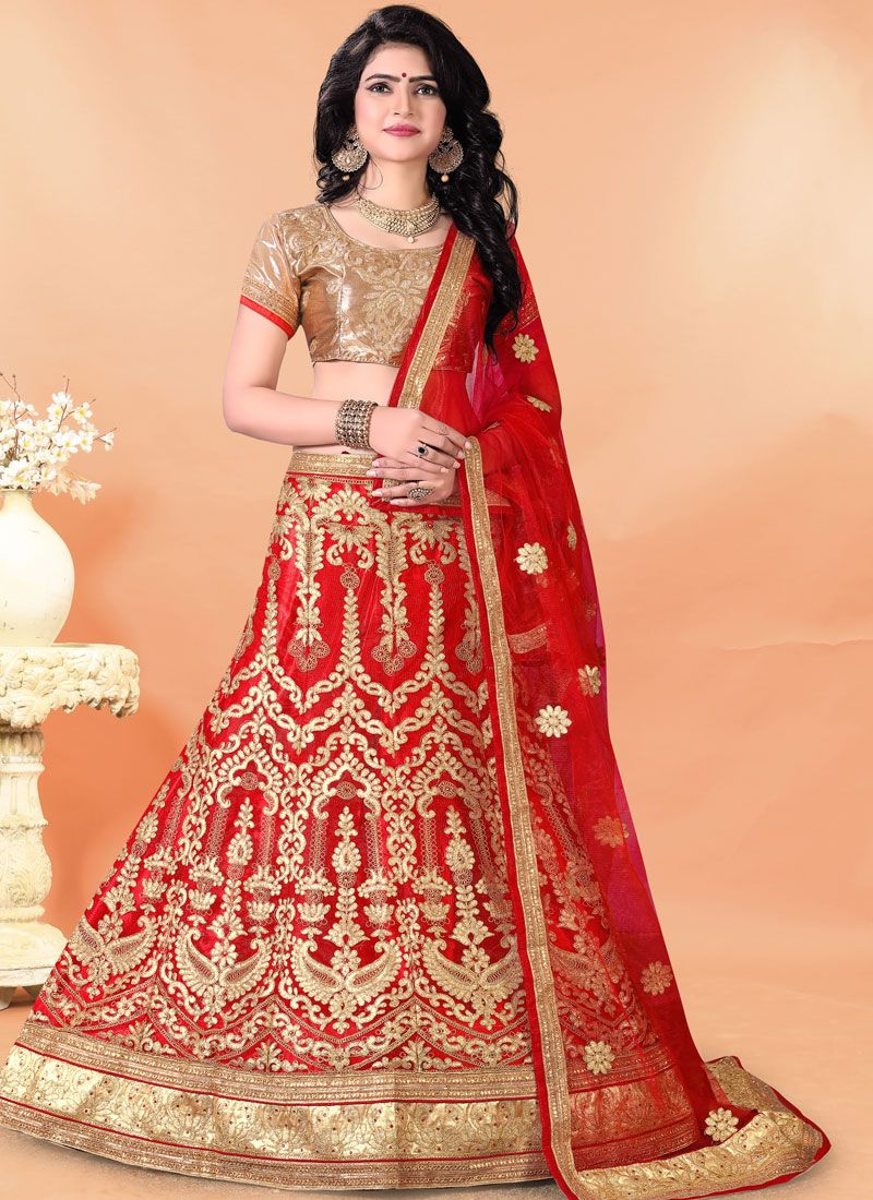 Zari Wedding Trendy Lehenga Choli