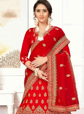A Line Lehenga Choli For Wedding