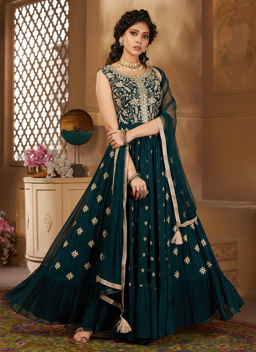 Anarkali Salwar Kameez For Bridal