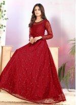Anarkali Salwar Suit For Ceremonial