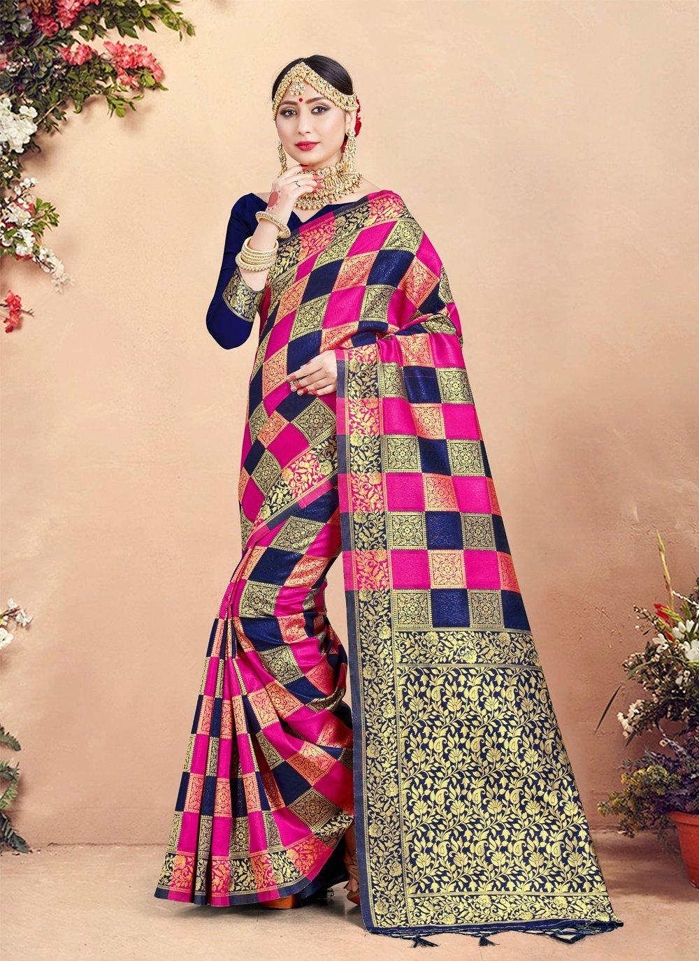 Art Banarasi Silk Classic Saree
