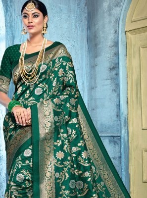 Art Banarasi Silk Reception Saree