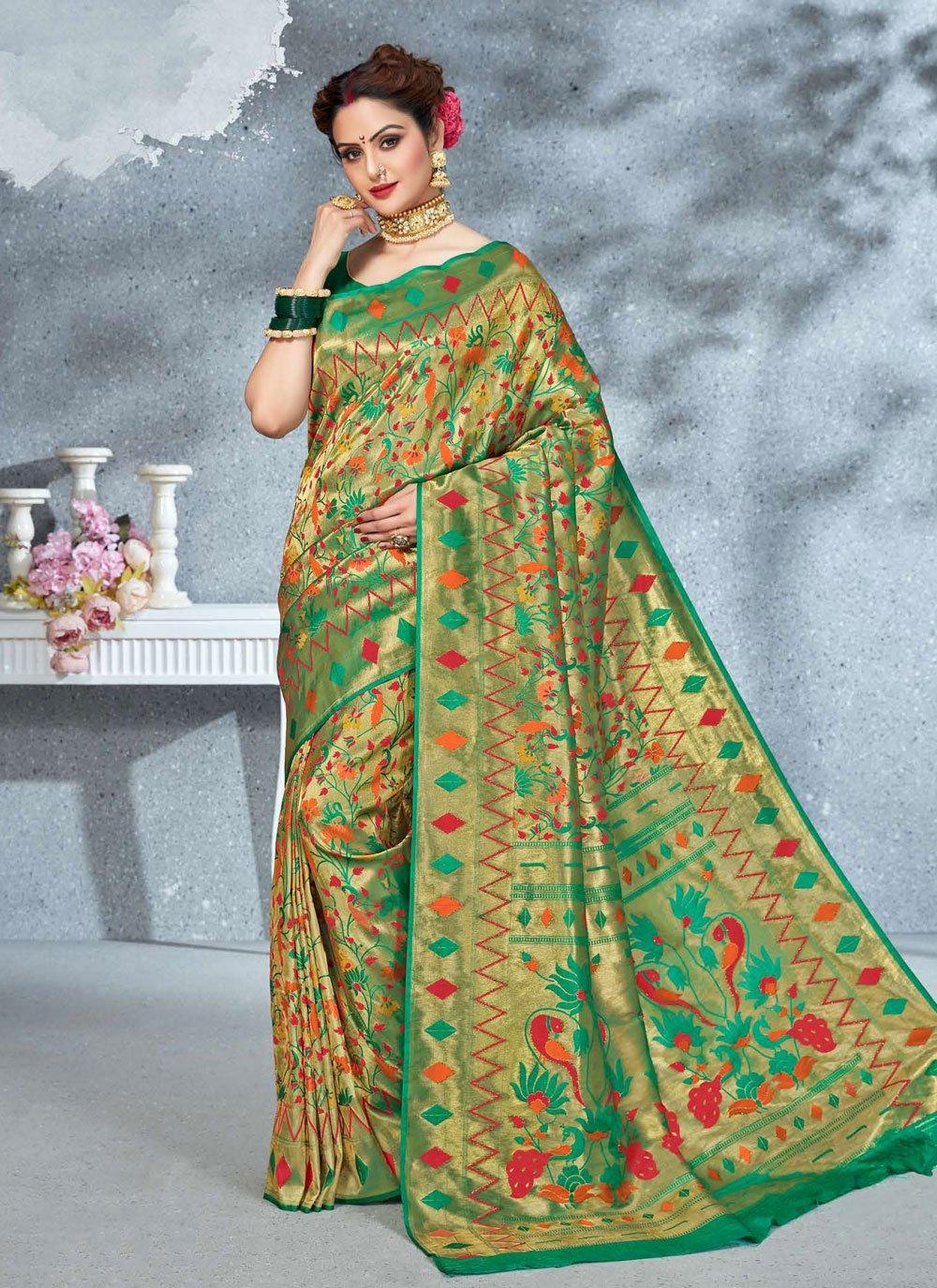 Art Silk Bridal Saree