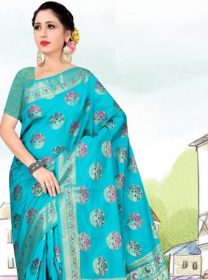 Art Silk Casual Casual Saree