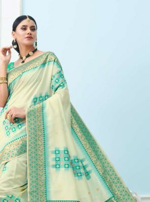 Art Silk Ceremonial Designer Saree