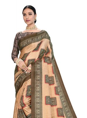 Art Silk Digital Print Printed Saree