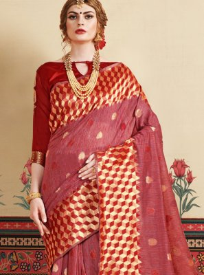 Art Silk Festival Casual Saree