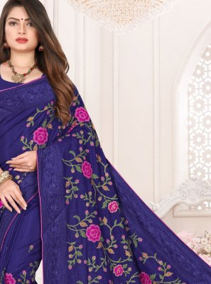 Art Silk Festival Designer Traditional Saree