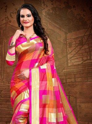 Art Silk Multi Colour Classic Designer Saree