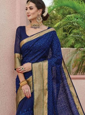 Art Silk Party Silk Saree