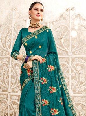 Art Silk Resham Traditional Saree