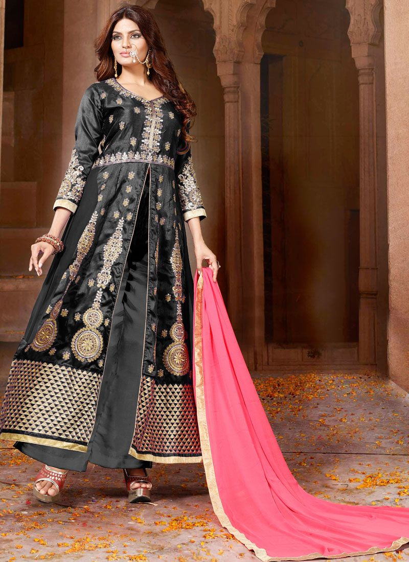 Art Silk Salwar Suit