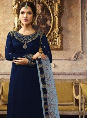 Art Silk Salwar Suit