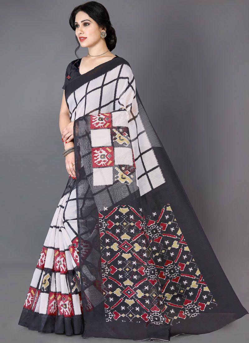 Art Silk Sangeet Casual Saree