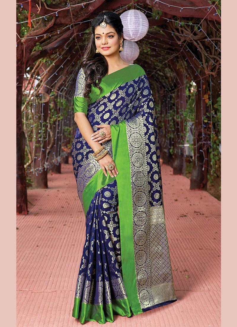 Art Silk Weaving Designer Traditional Saree