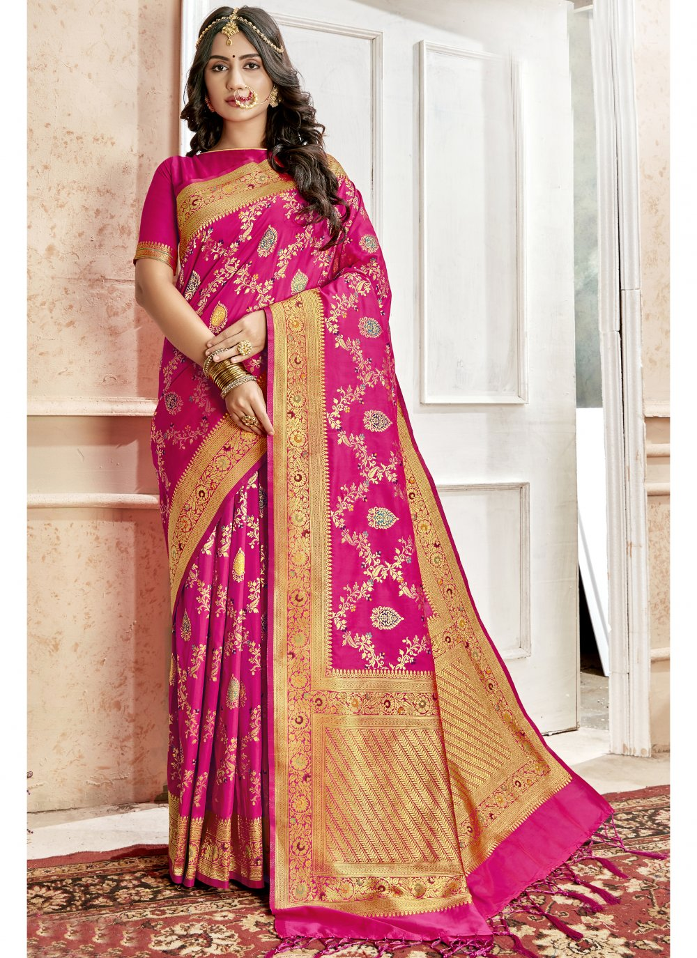 Art Silk Weaving Saree