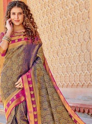 Art Silk Weaving Trendy Saree