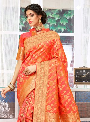 Art Silk Wedding Designer Traditional Saree