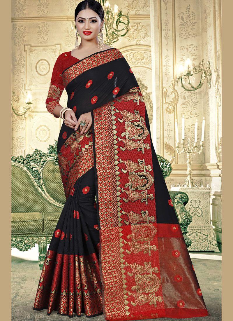 Banarasi Silk Festival Trendy Saree