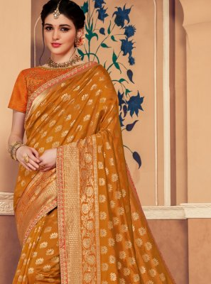 Banarasi Silk Gold Classic Saree