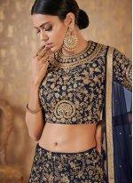Banarasi Silk Party A Line Lehenga Choli