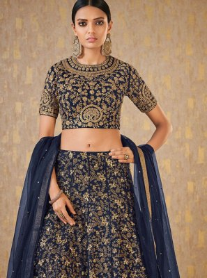 Banarasi Silk Party A Line Lehenga Choli