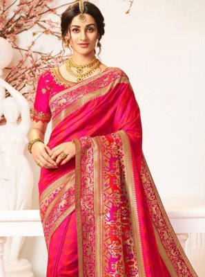 Banarasi Silk Party Classic Saree