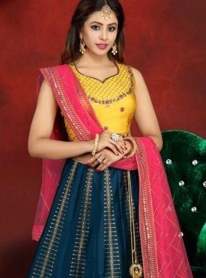 Banarasi Silk Readymade Lehenga Choli