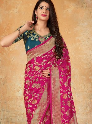 Banarasi Silk Reception Classic Designer Saree