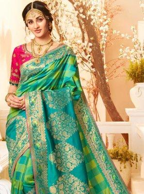 Banarasi Silk Weaving Classic Designer Saree