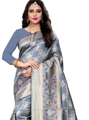 Banarasi Silk Weaving Designer Saree