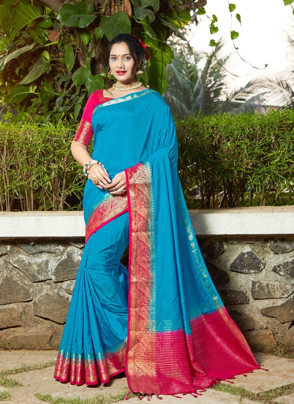 Banarasi Silk Weaving Silk Saree