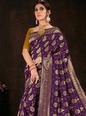 Banarasi Silk Weaving Traditional Saree