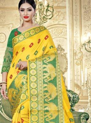 Banarasi Silk Woven Classic Designer Saree