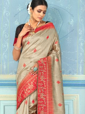 Bhagalpuri Silk Party Designer Traditional Saree