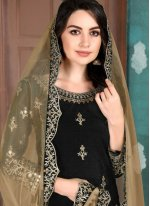 Black Art Silk Festival Patiala Salwar Kameez