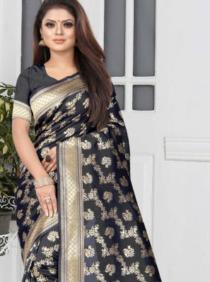Black Color Casual Saree