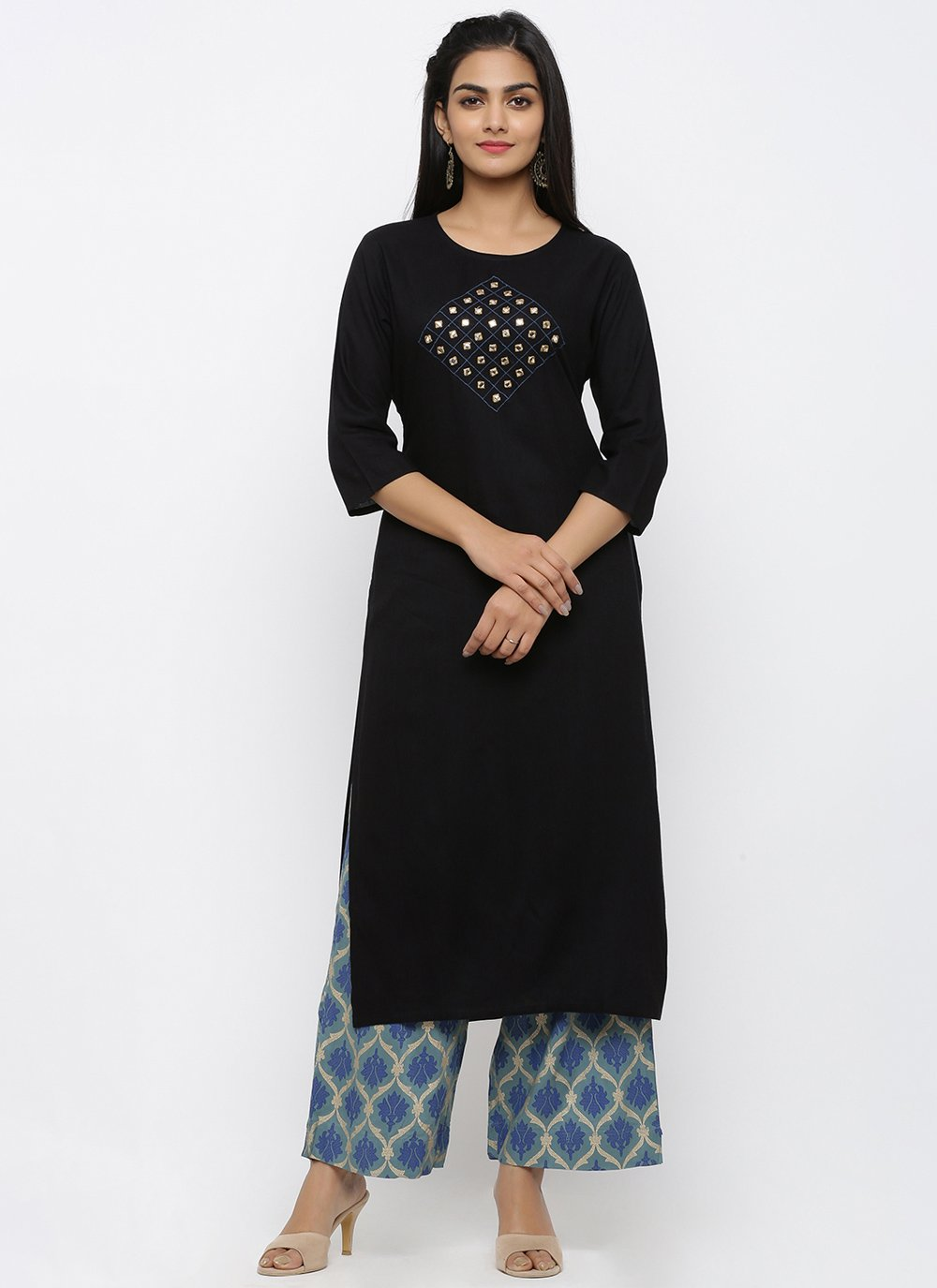 Black Color Salwar Suit