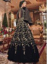 Black Embroidered Anarkali Salwar Kameez