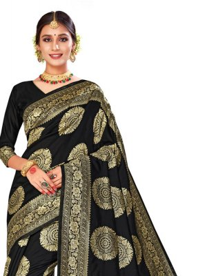 Black Festival Saree
