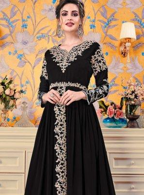Black Floor Length Gown