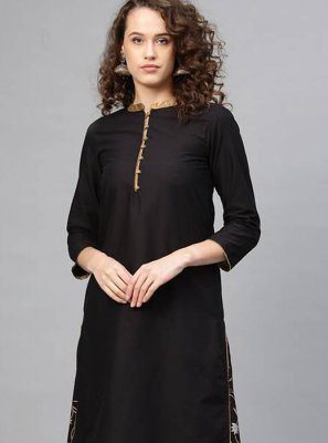 Black Mehndi Salwar Kameez