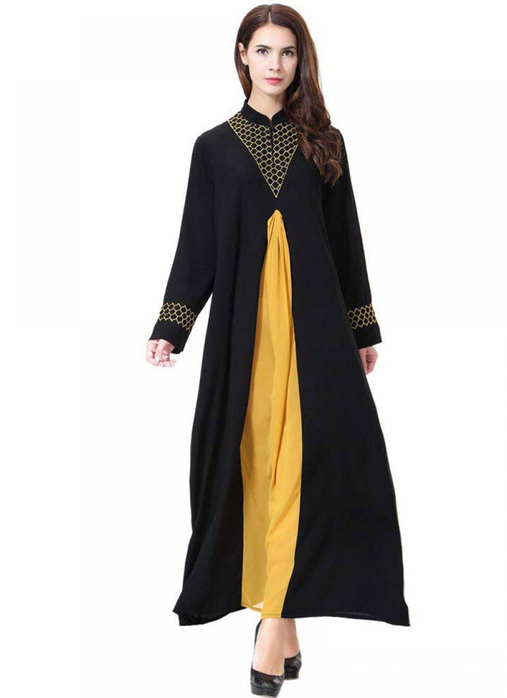 Black Mehndi Salwar Suit