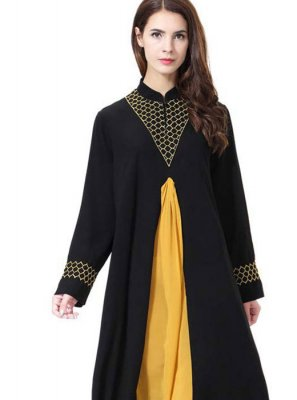 Black Mehndi Salwar Suit