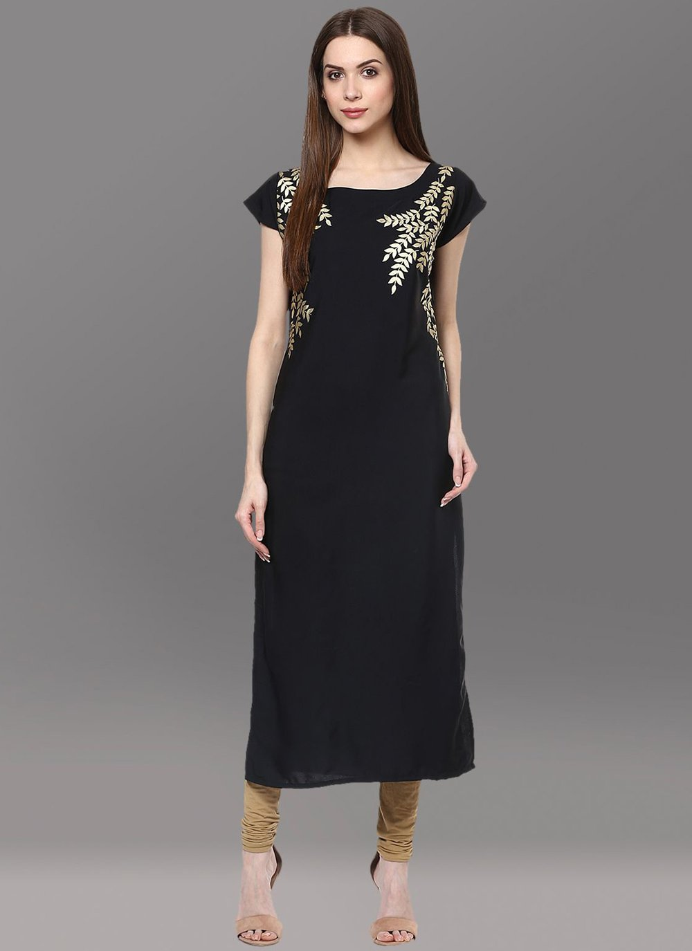 Black Party Designer Kurti