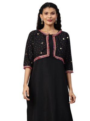 Black Party Salwar Kameez