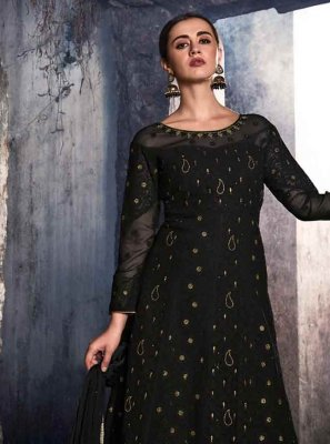 Black Wedding Salwar Kameez